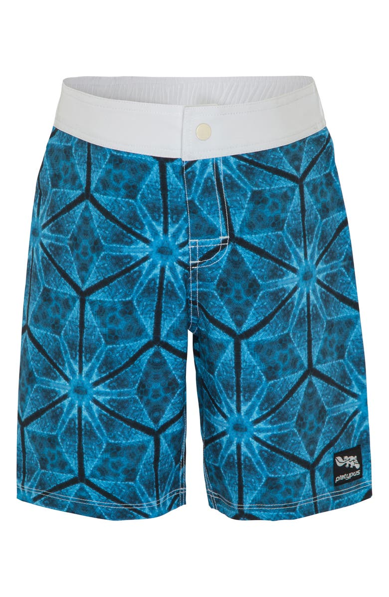 PLATYPUS AUSTRALIA Print Board Shorts, Main, color, KALEIDOSCOPE