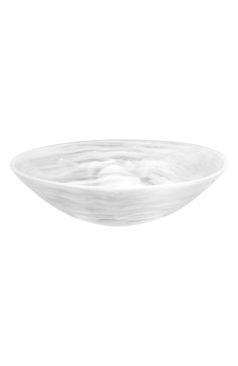 NASHI HOME Everyday Serving Bowl, Main, color, WHITE SWIRL