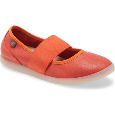 Softinos By Fly London Lynn Flat - Red