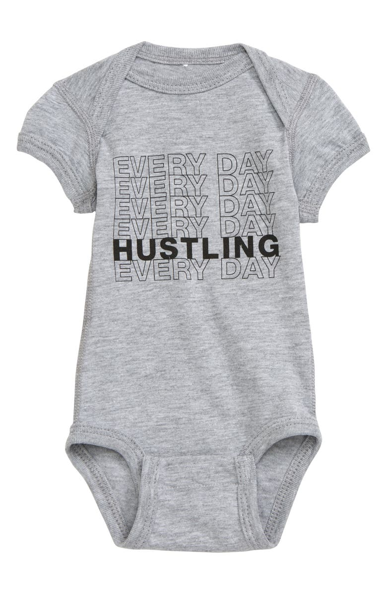 KID DANGEROUS Hustling Bodysuit, Main, color, 030