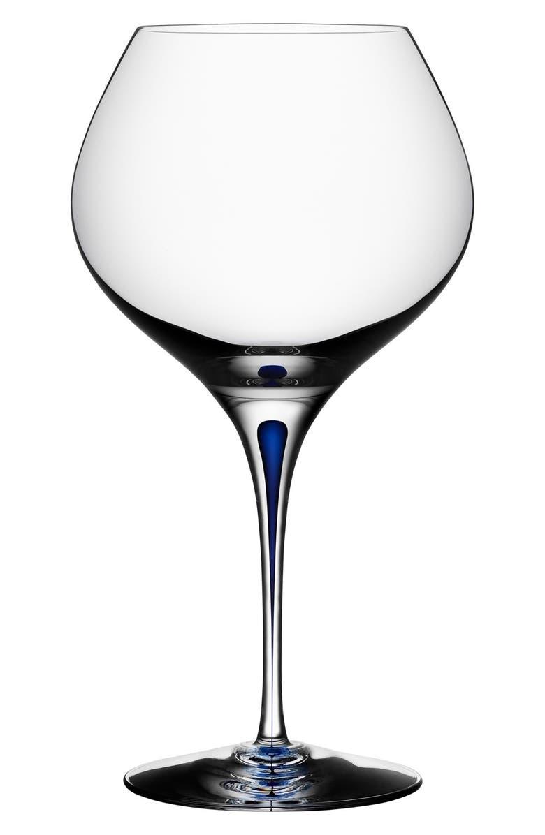 ORREFORS 'Intermezzo' Bouquet Glass, Main, color, CLEAR/ BLUE