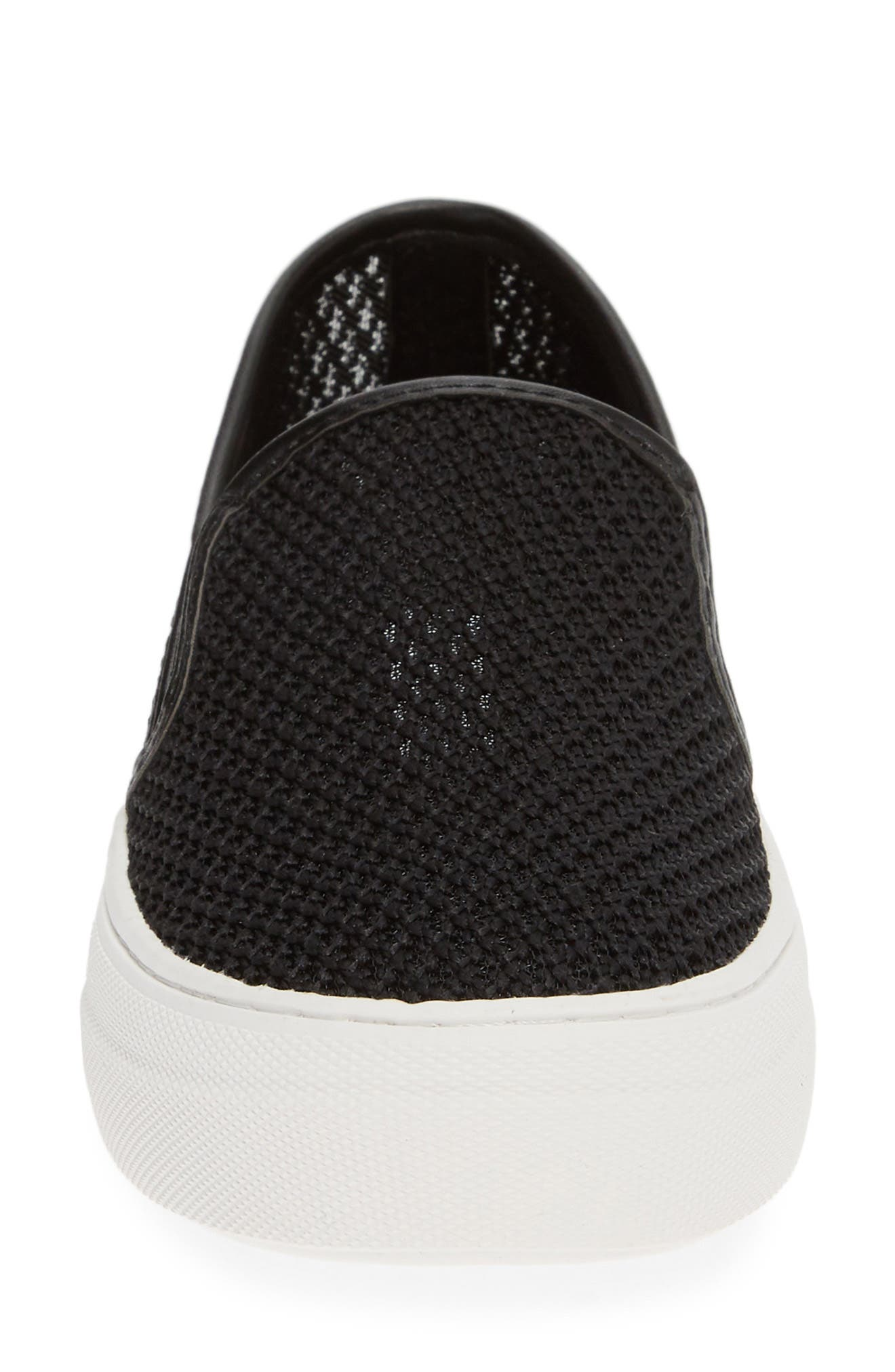 ,                             Gills-M Mesh Slip-On Sneaker,                             Alternate thumbnail 4, color,                             BLACK