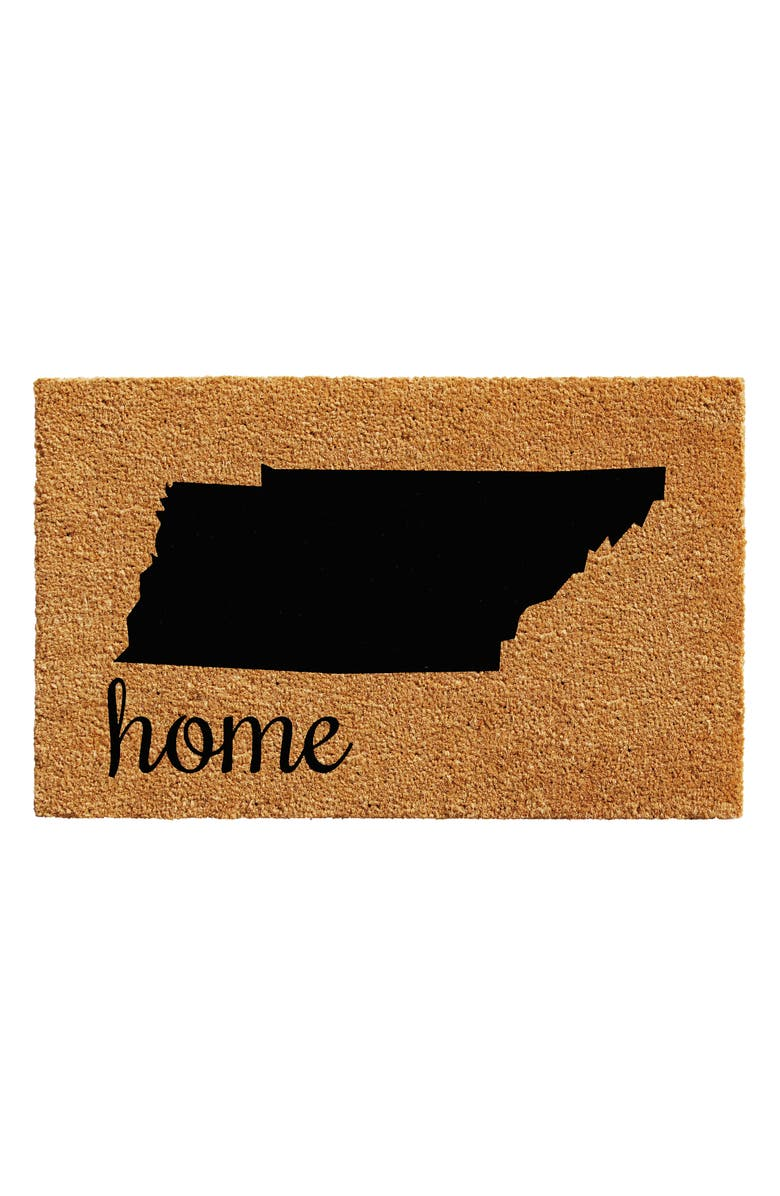 CALLOWAYMILLS Home State Doormat, Main, color, TENNESSEE