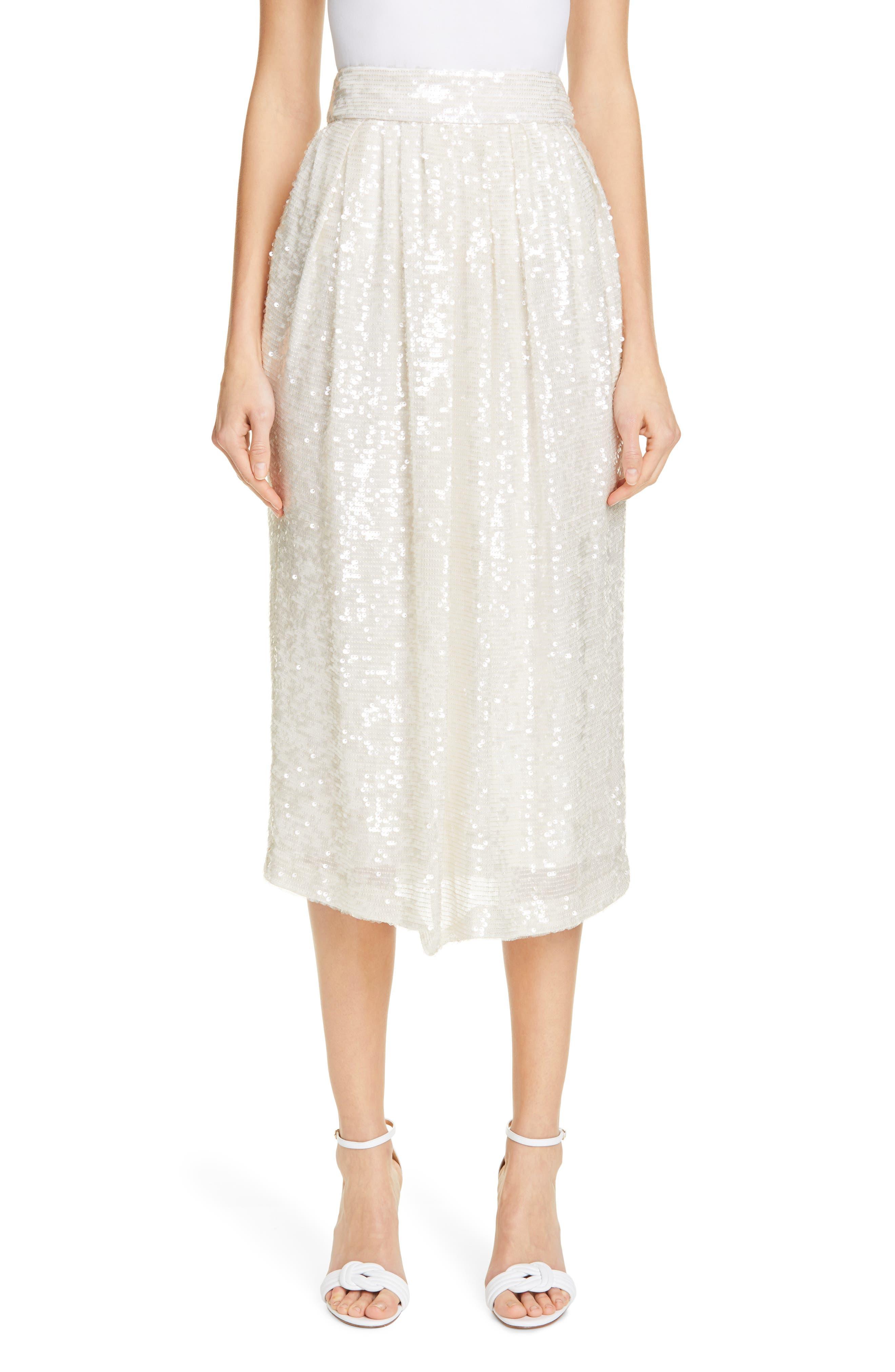 Adam Lippes Skirts Sequin Skirt