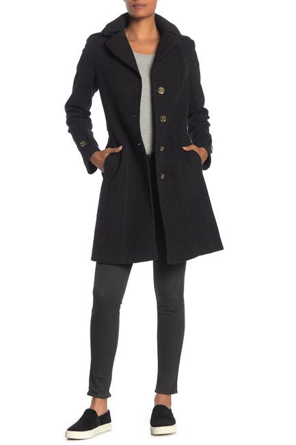 Image of MICHAEL Michael Kors Missy Belted Wool Blend Coat