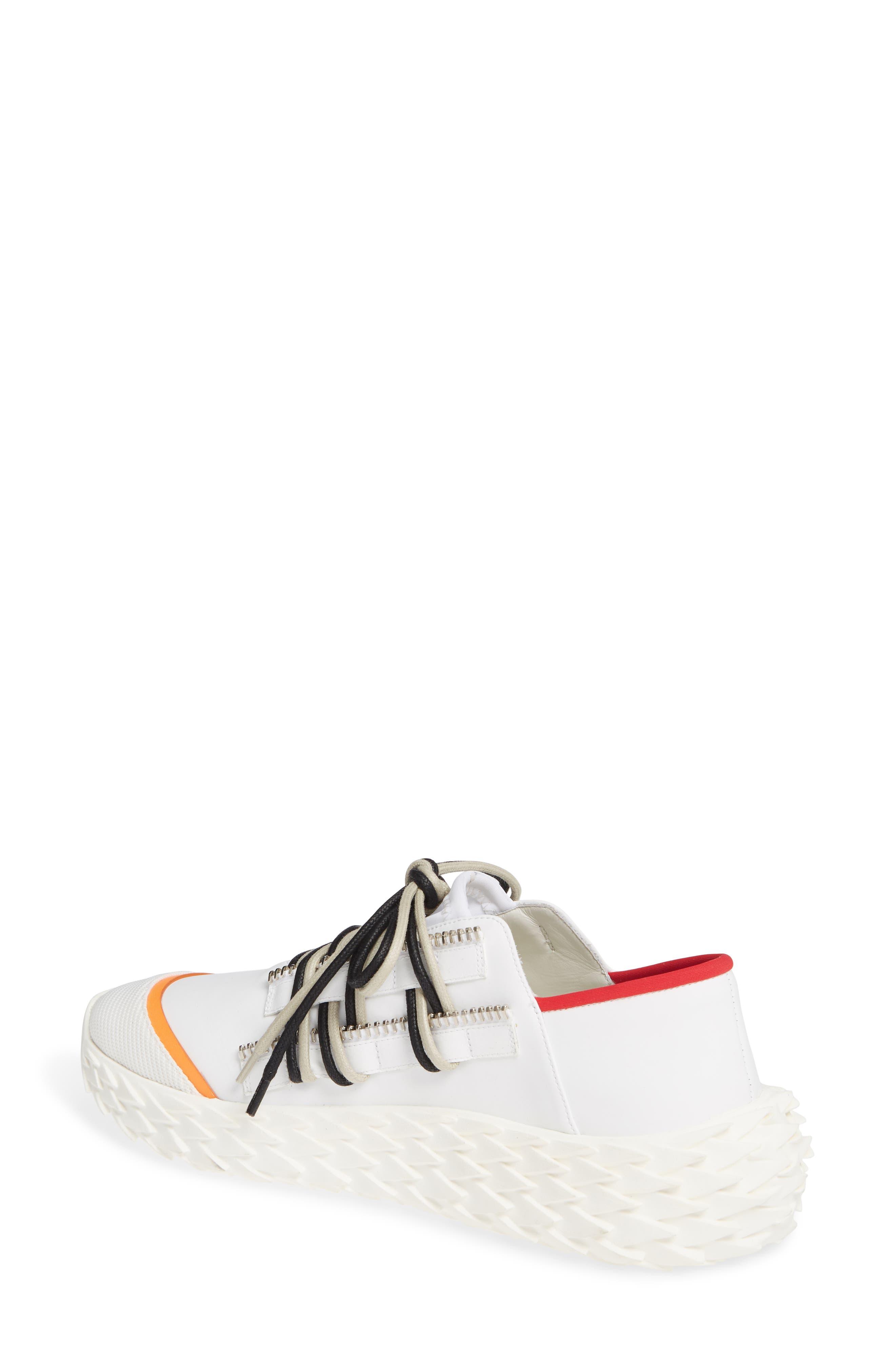 ,                             Scale Sole Sneaker,                             Alternate thumbnail 2, color,                             WHITE
