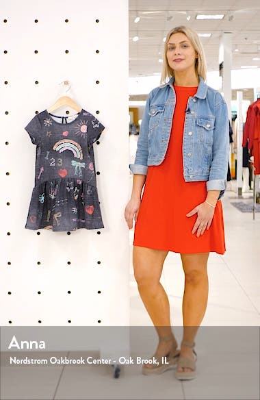 Chalkboard Print Dress, sales video thumbnail