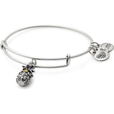 Alex And Ani Pineapple Adjustable Wire Bangle