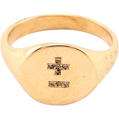 Loren Stewart Love You More Signet Ring