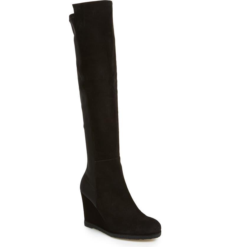 STUART WEITZMAN 'Demiswoon' Over the Knee Boot, Main, color, 001