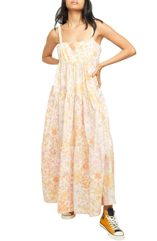 Free People Maxi dresses FLORAL MAXI SUNDRESS