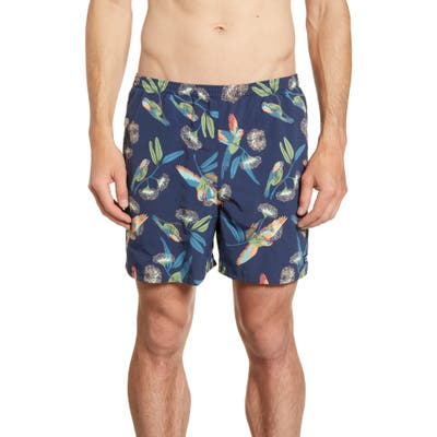 Patagonia Baggies 5-Inch Swim Trunks, Blue