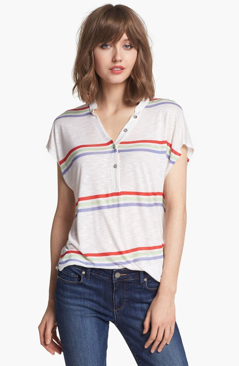 SPLENDID 'Hermosa' Dolman Henley Tee, Main, color, 110
