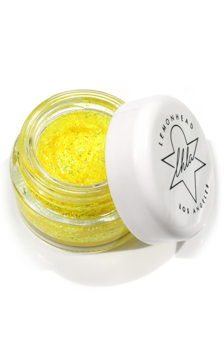LEMONHEAD.LA Glowjam Cosmic UV Glitter Balm, Main, color, ELECTRIC DAZE