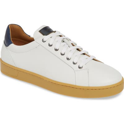 Magnanni Elonso Low Top Sneaker- White