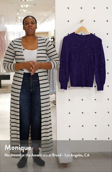 Sineady Pointelle Sweater, sales video thumbnail