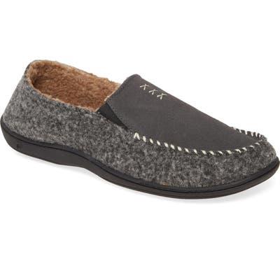 Acorn Crafted Moc Slipper, Grey