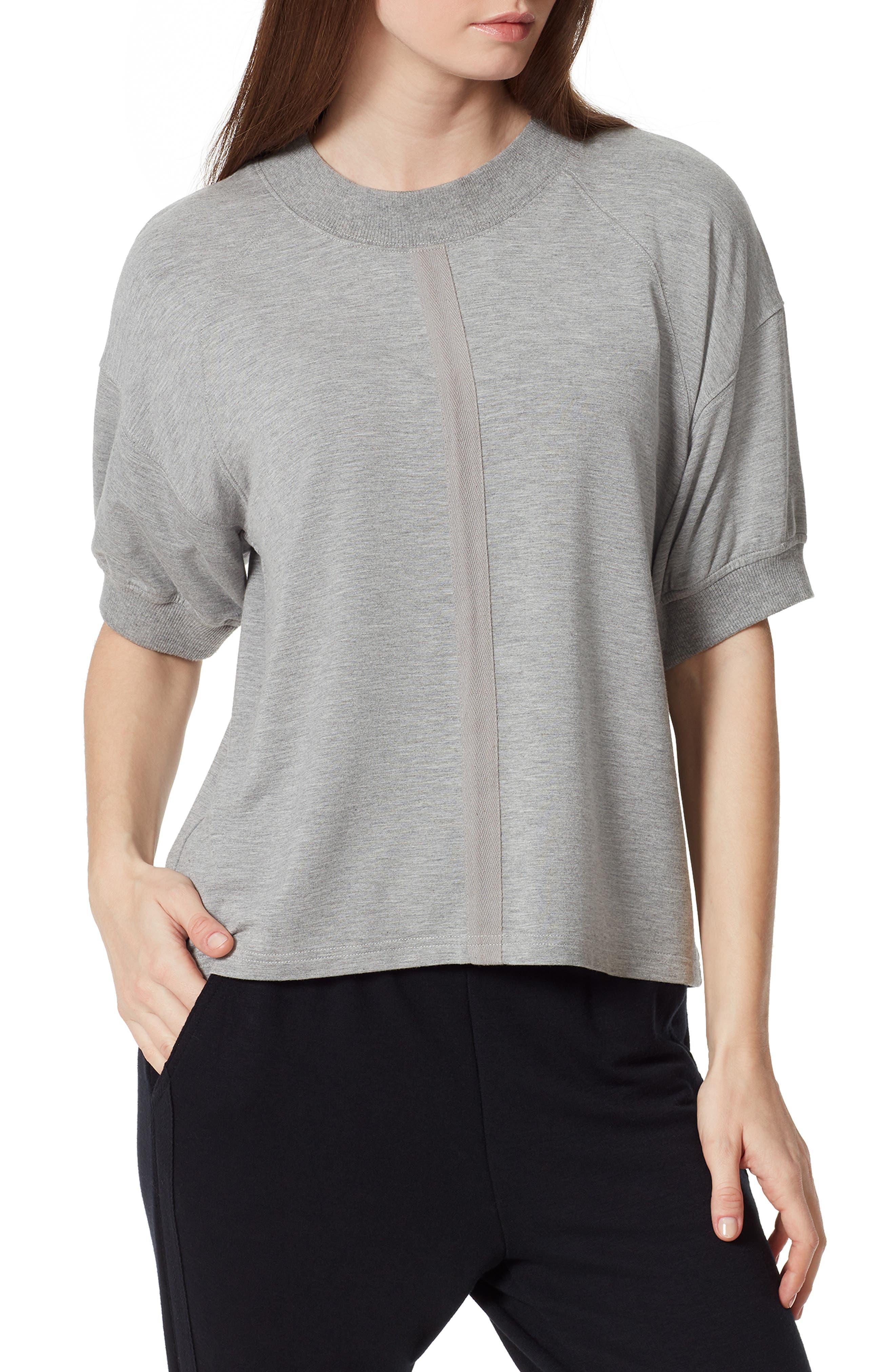 Anne Klein Sport Lennox Twill Tape T-Shirt