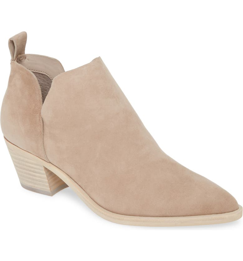 DOLCE VITA Sonni Pointy Toe Bootie, Main, color, ALMOND