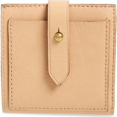 Madewell The Post Billfold Wallet - Beige