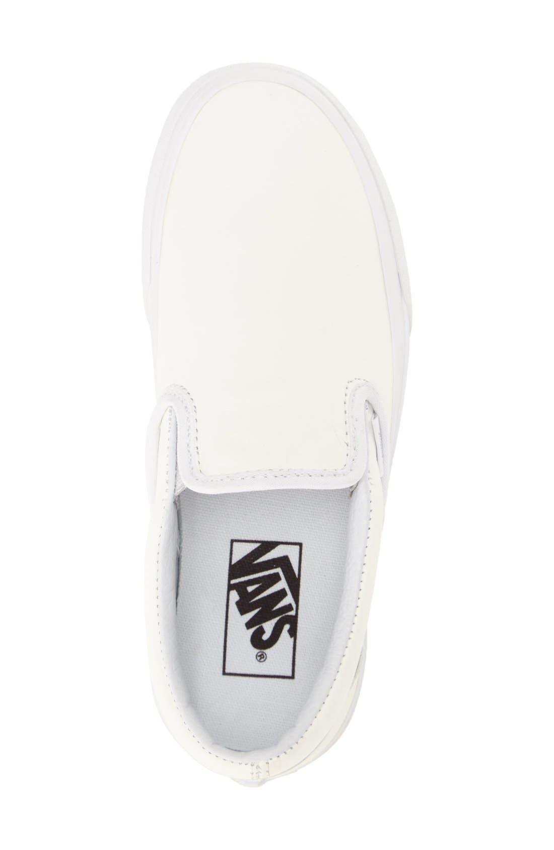 ,                             Classic Slip-On Sneaker,                             Alternate thumbnail 307, color,                             100