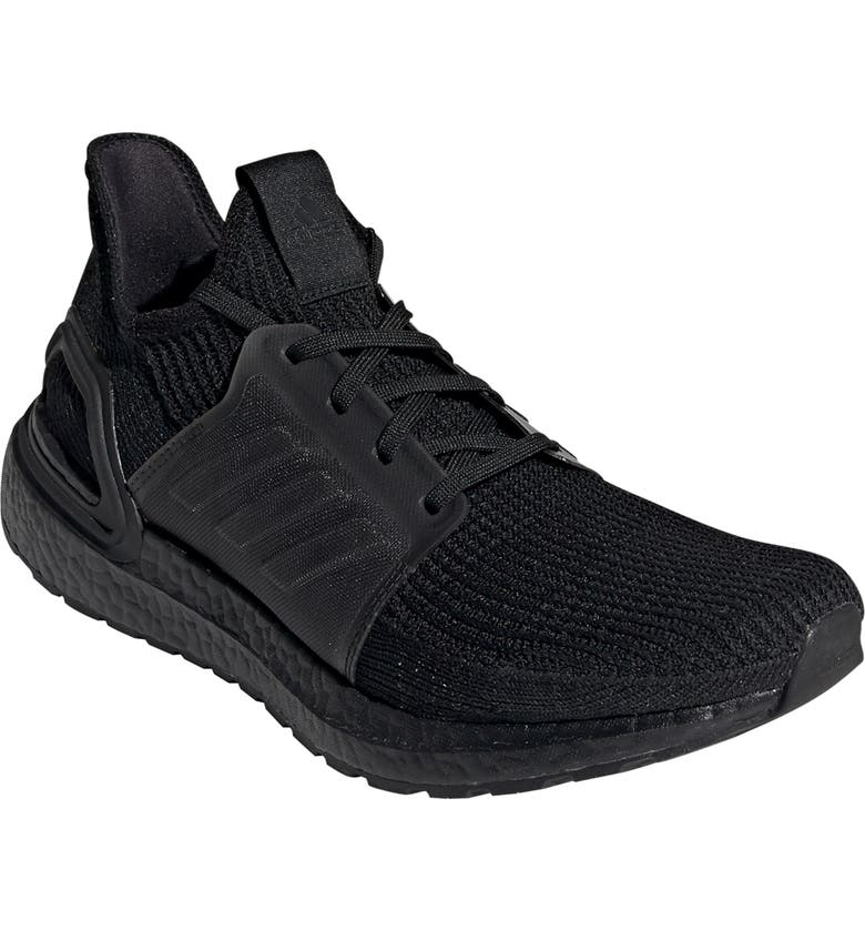 ADIDAS UltraBoost 19 Running Shoe, Main, color, CORE BLACK/ CORE BLACK