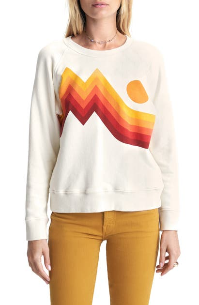 Mother Tops THE SQUARE GRAPHIC SWEATSHIRT