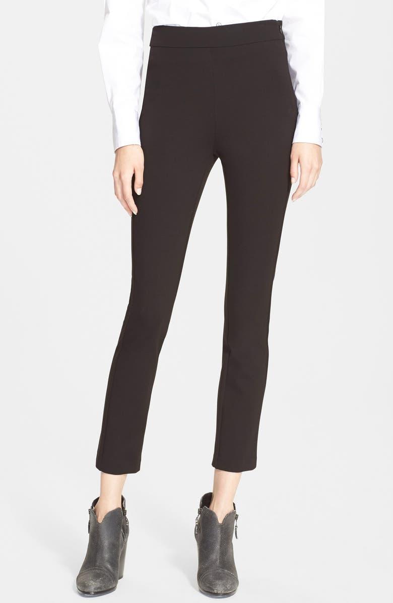 RAG & BONE 'Jennie' Slim Stretch Ankle Pants, Main, color, 001