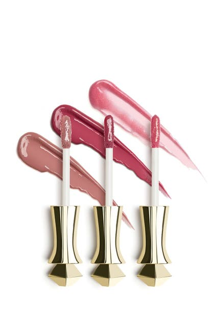 Image of Mirenesse Crushed Berries Velvet Lip Gloss 3-Piece Mania Mini Collection