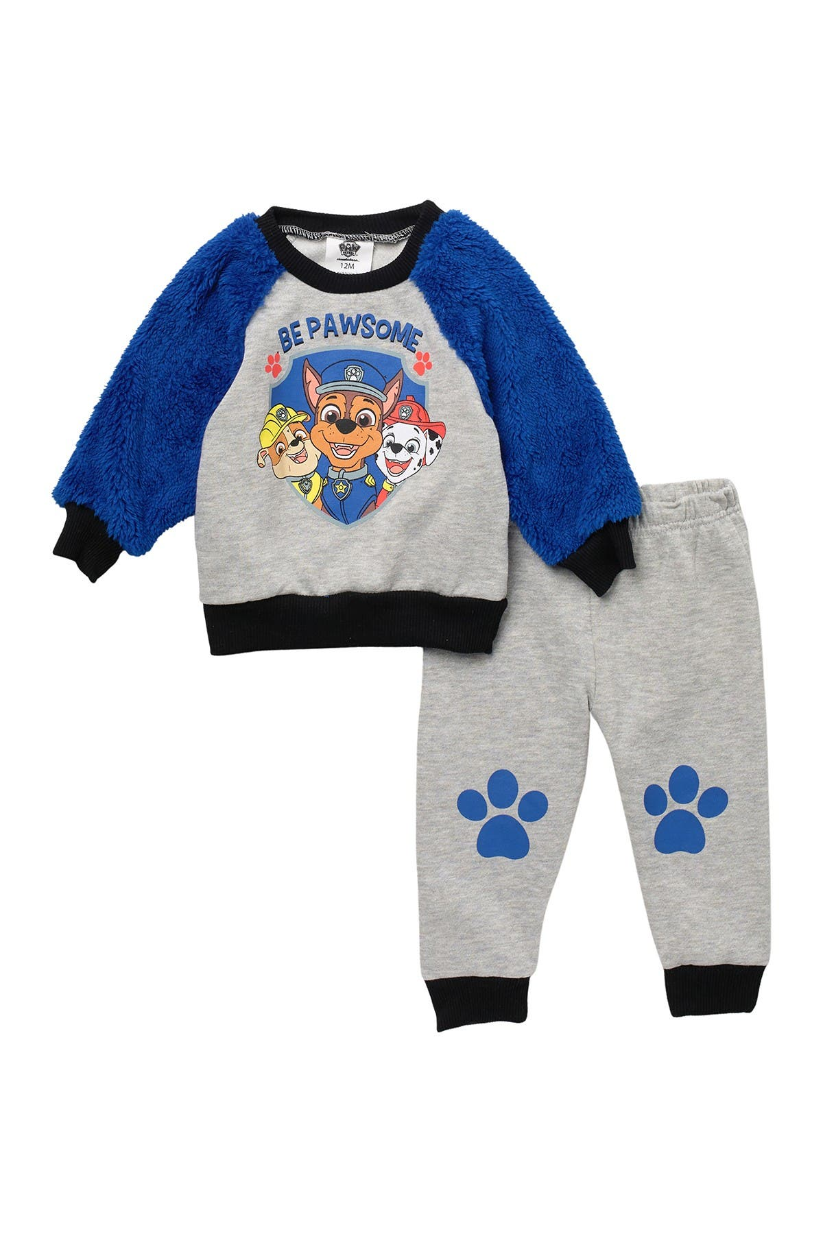 Image of HAPPY THREADS Paw Patrol Long Sleeve Top & Jogger Set