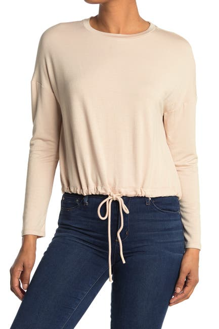Image of Sophie Rue Drawstring Hem Sweater