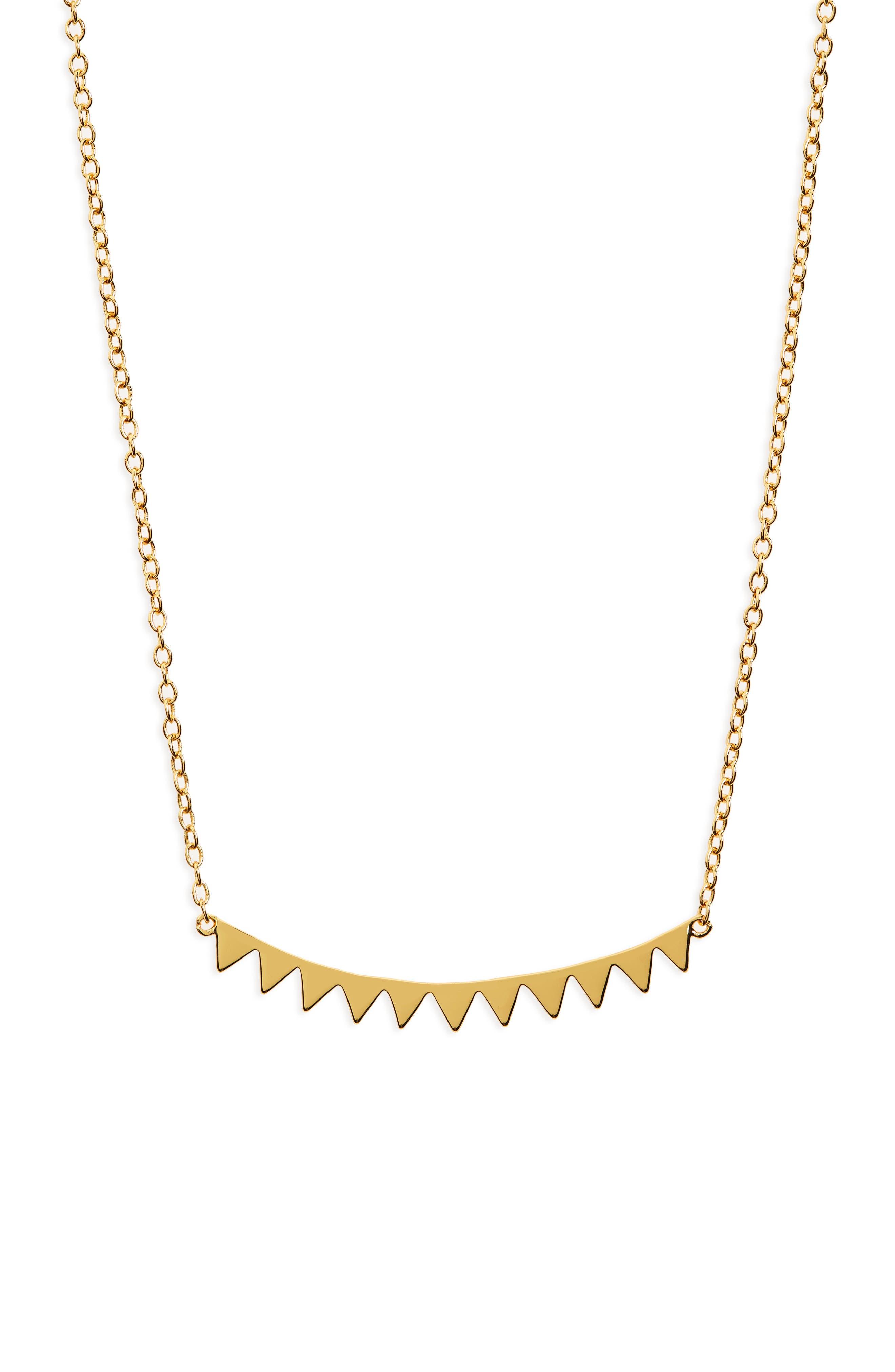 Image of Gorjana Mika Pendant Necklace