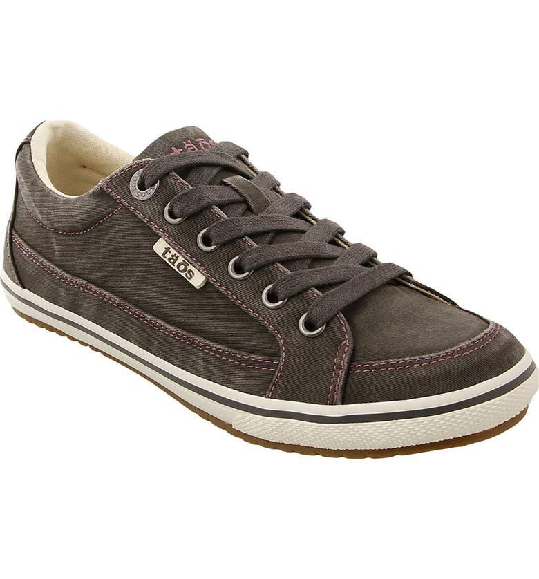 TAOS Moc Star Sneaker, Main, color, GRAPHITE DISTRESSED