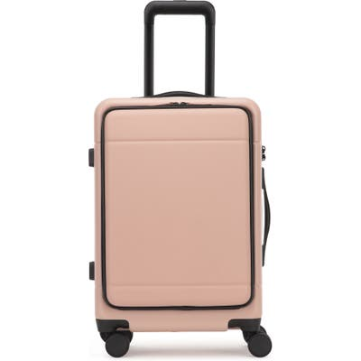 Calpak Hue 22-Inch Front Pocket Carry-On Suitcase - Pink