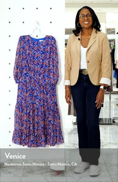 Floral Fit & Flare Midi Dress, sales video thumbnail