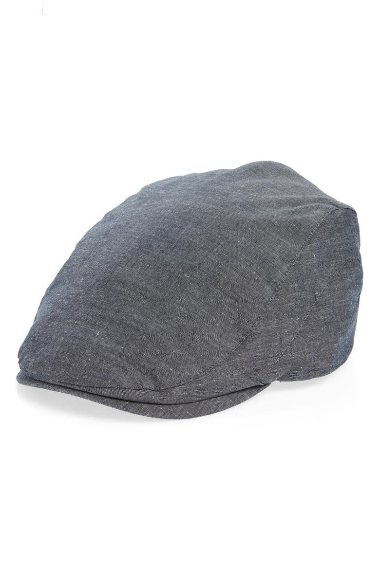 GOORIN BROS. All About It Driving Cap, Main, color, BLUE