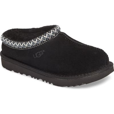 Toddler UGG K-Tasman Ii Embroidered Slipper, Black