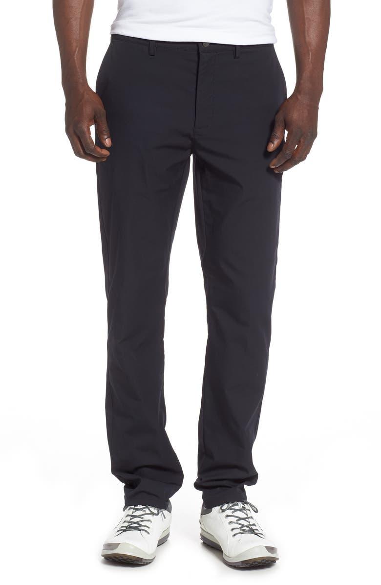 CALLAWAY X CoolMax<sup>®</sup> Tech Slim Fit Pants, Main, color, 002