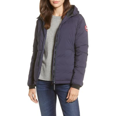 Canada Goose Camp Down Hooded Water Resistant Jacket, (2-4) - Blue