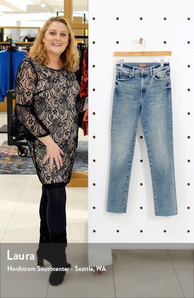 The Rascal Fray Hem Ankle Slim Jeans, sales video thumbnail