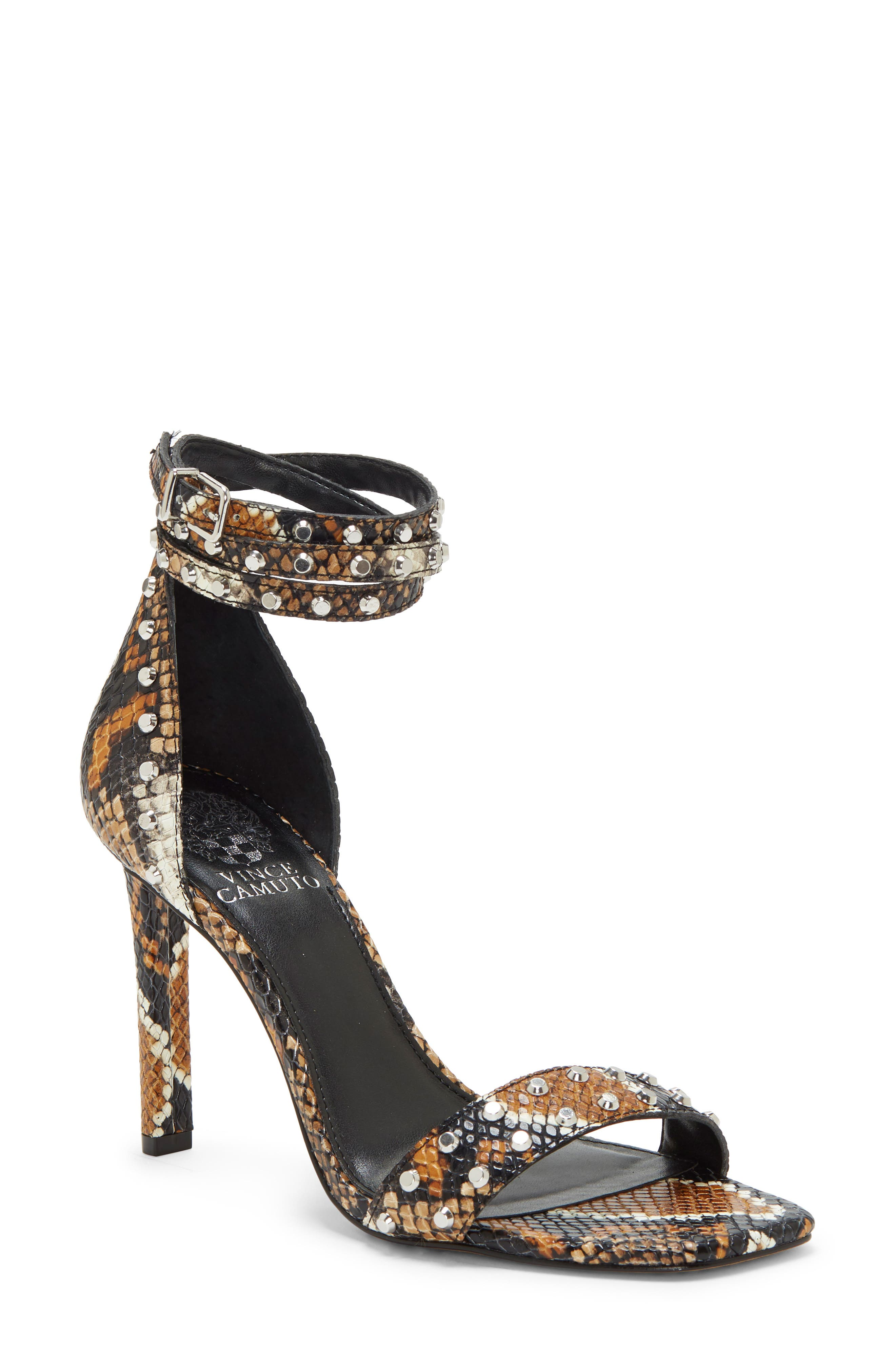 Vince Camuto Lorasha Studded Ankle Strap Sandal (Women)
