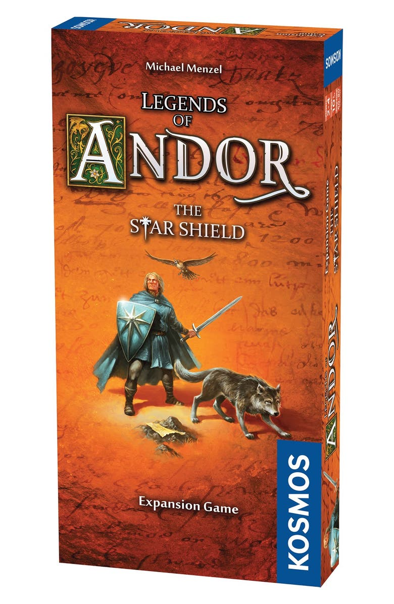 THAMES & KOSMOS 'Legends of Andor - The Star Shield' Game Expansion Pack, Main, color, BROWN