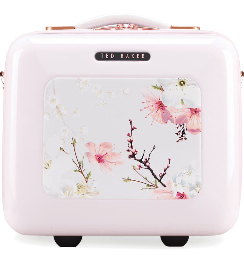 TED BAKER LONDON Blossoms Vanity Case, Main, color, 650
