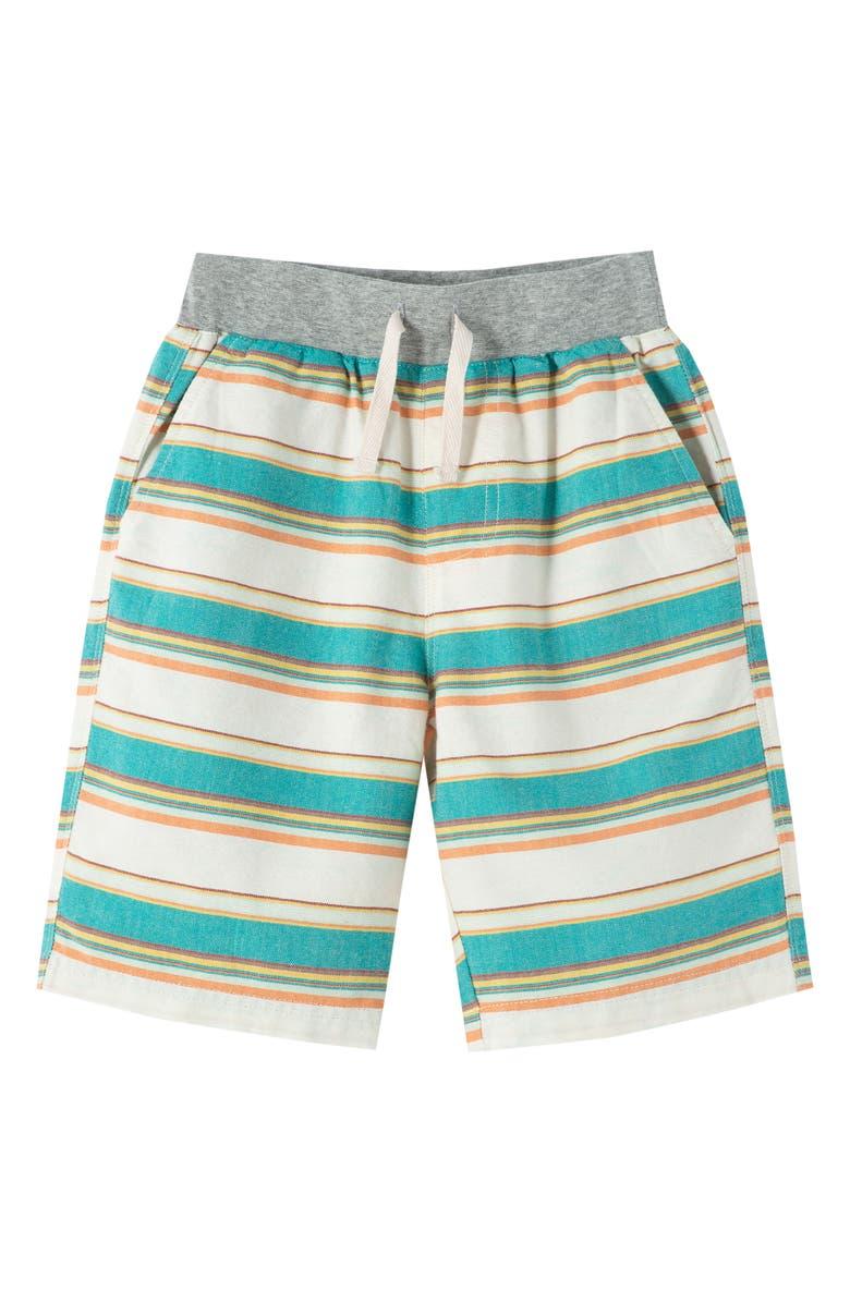 PEEK ARENT YOU CURIOUS Peek Aren't You Curious Noah Stripe Shorts, Main, color, MULTI