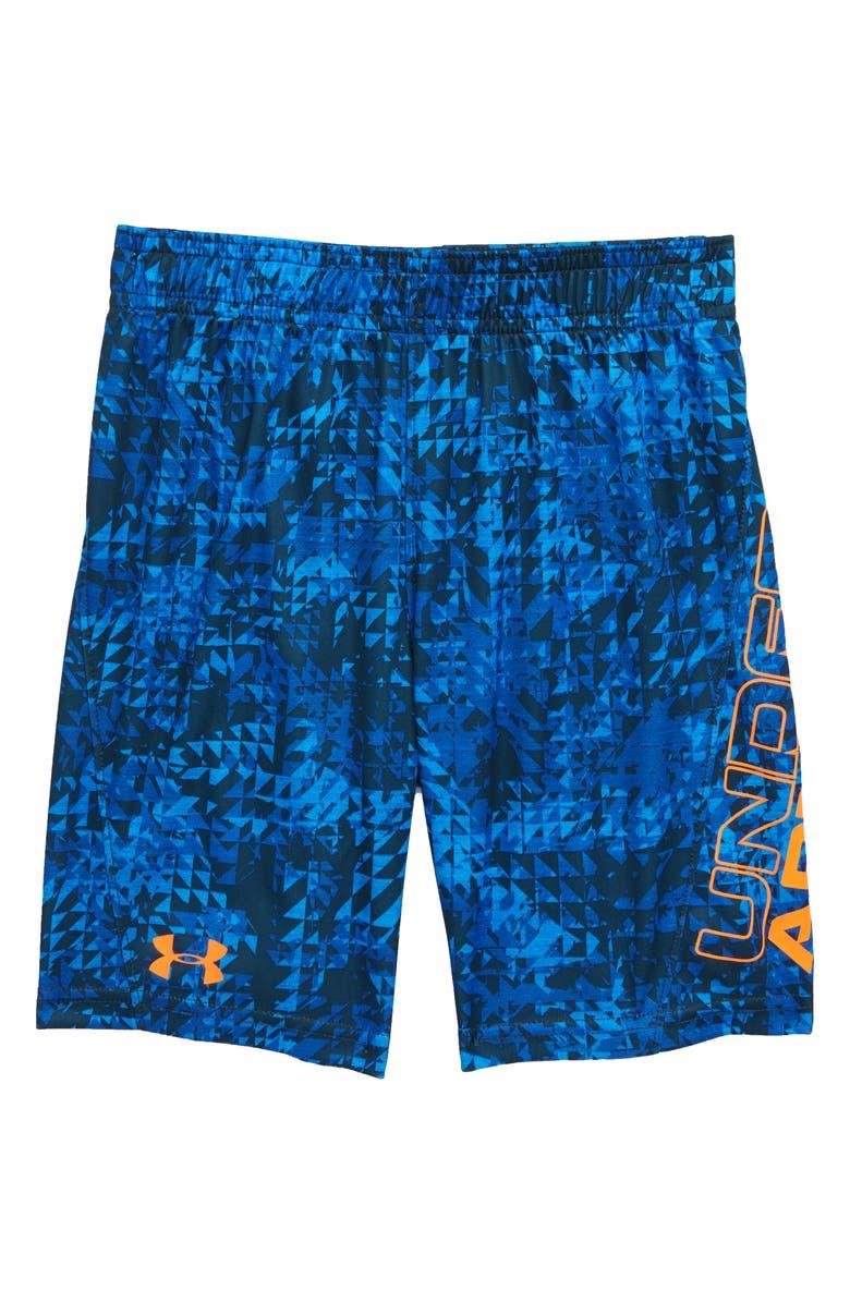 UNDER ARMOUR HeatGear<sup>®</sup> Triledo Shorts, Main, color, POWDERKEG BLUE