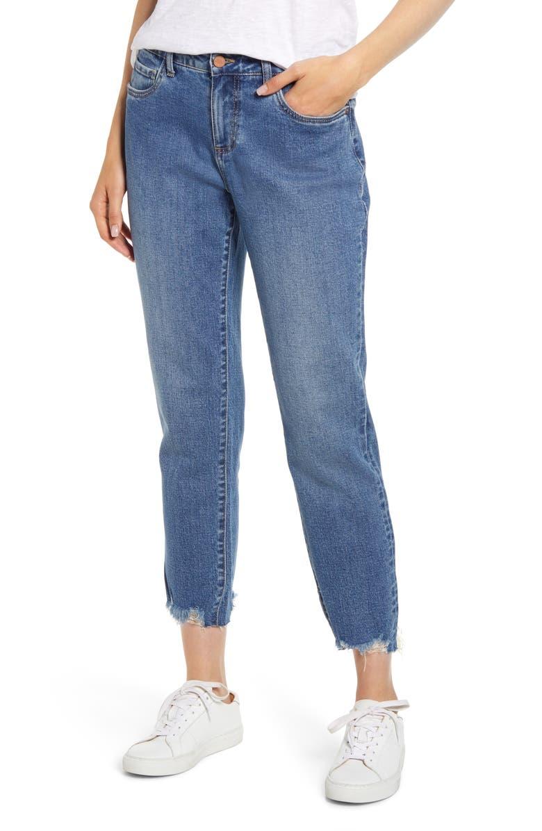 WASH LAB Favorite Ex-Boyfriend Jeans, Main, color, AUTHENTIC BLUE