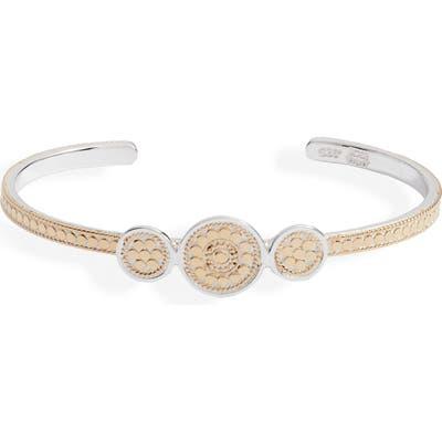 Anna Beck Beaded Triple Circle Cuff Bracelet