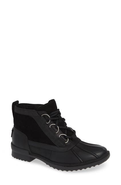 Image of UGG Heather UGGpure Wool Lined Waterproof Lace-Up Bootie