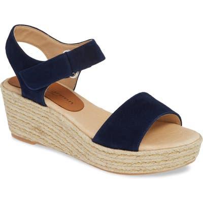 Patricia Green Corie Espadrille Wedge Sandal, Blue