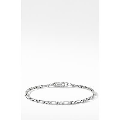 David Yurman Open Station Box Chain Bracelet